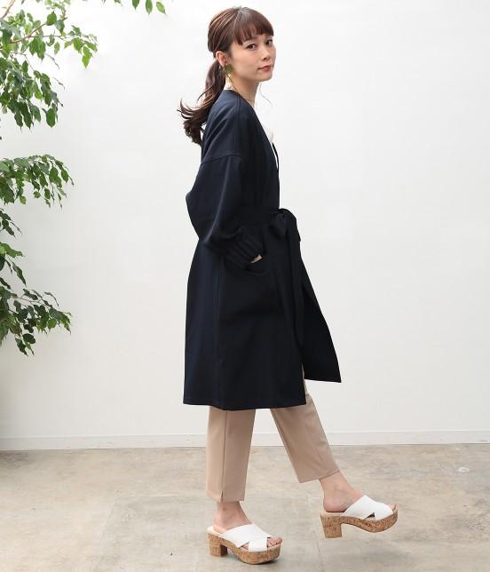ビス | タックボリューム袖コート - 6