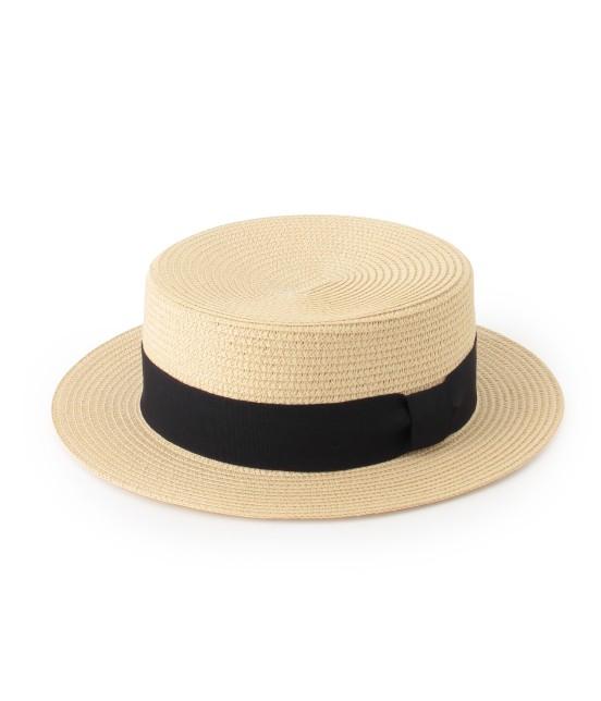 ロペピクニックパサージュ | ペーパーブレードカンカン帽 | ベージュ