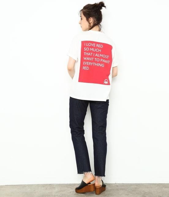 アダム エ ロペ ファム | 【UNITED COLORS OF BENETTON. FOR ADAM ET ROPE'】Color wall T-shirts - 19