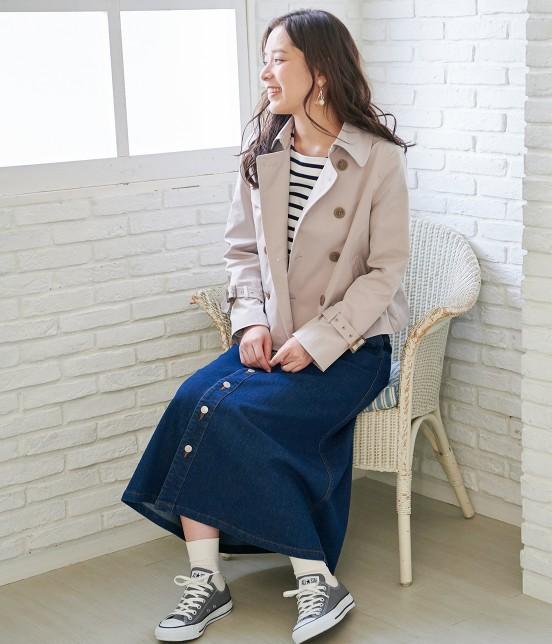 ロペピクニック | 【10%OFF Campaign】【予約】【WEB限定】フロントボタンデニムスカート - 15