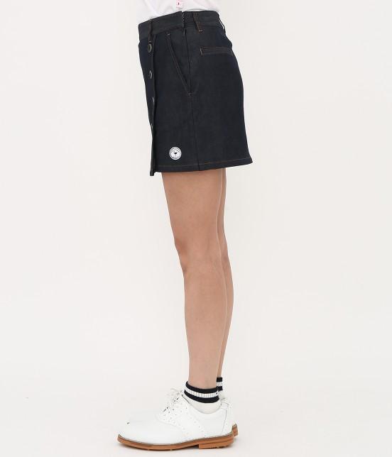 ジュン アンド ロペ | 【吸水速乾】COOL MAXデニムスカート - 1
