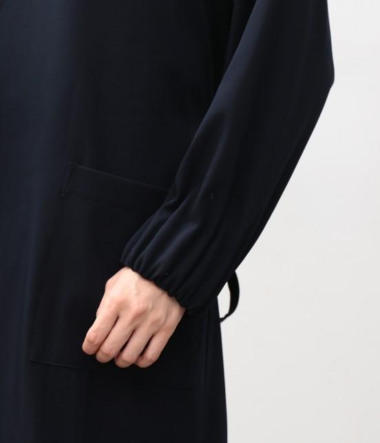 ビス | タックボリューム袖コート - 4