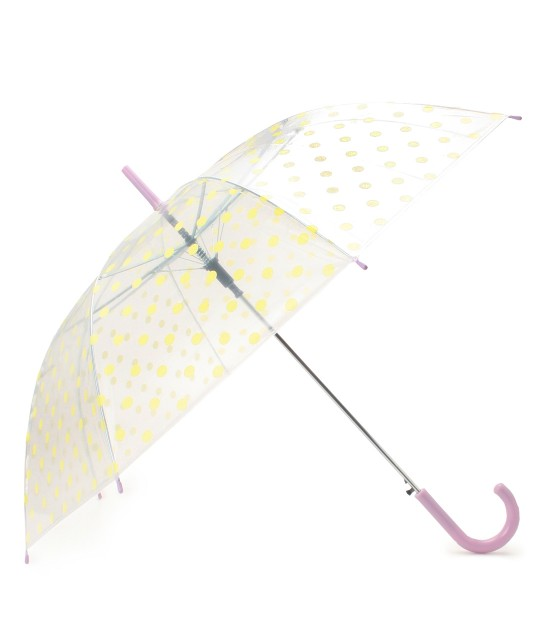ビス | ドット柄ビニール傘 | イエロー