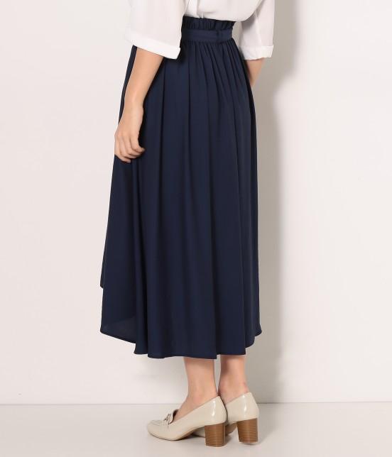 ロペピクニック | 【HIRARI COLLECTION】ヴィンテージサテンスカート - 2