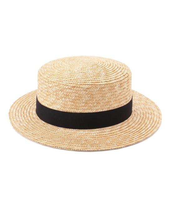 サロン アダム エ ロペ ウィメン | 【田中帽子×SALON】カンカン帽 - 3