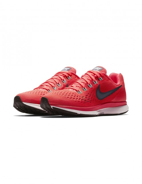 ナージー   【Nike】Air Zoom Pegasus 34   レッド系