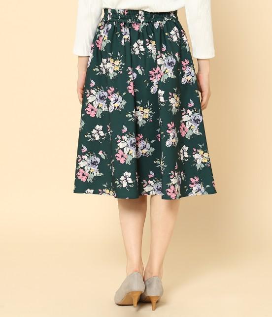 ロペピクニック | 花柄ギャザースカート - 2