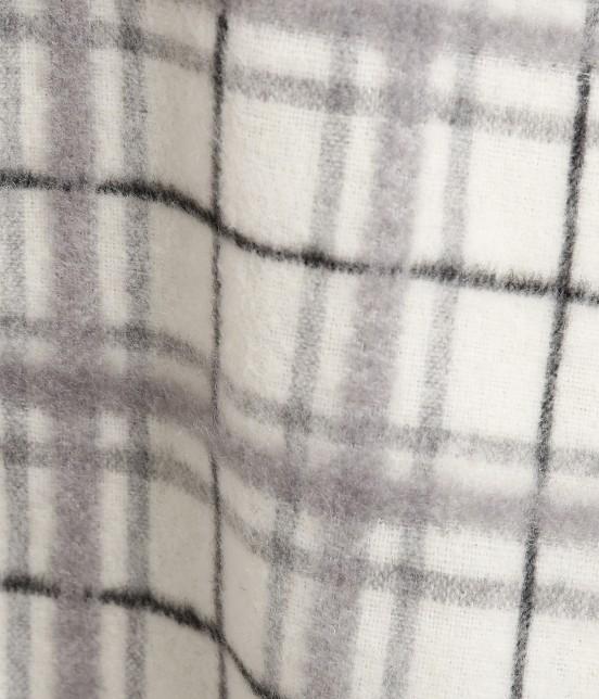 ロペピクニック | 立体シャギーチェックフレアースカート - 6