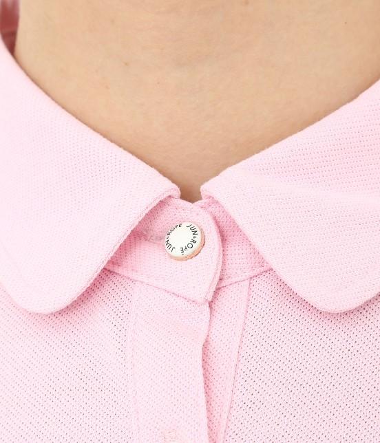 ジュン アンド ロペ | 【UV CUT】【吸水速乾】【接触冷感】ミリオンアイス切替半袖ポロシャツ - 5