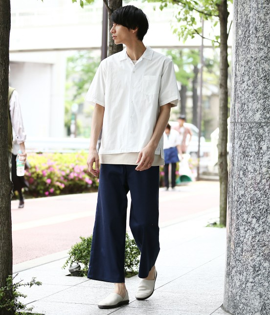 ジュンレッド | ドライコットンオープンカラーシャツ - 17