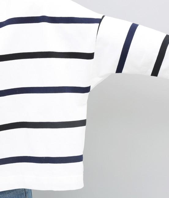 アダム エ ロペ ファム | 【新色】【Traditional Weatherwear】BIG MARINE BOATNECK - 8