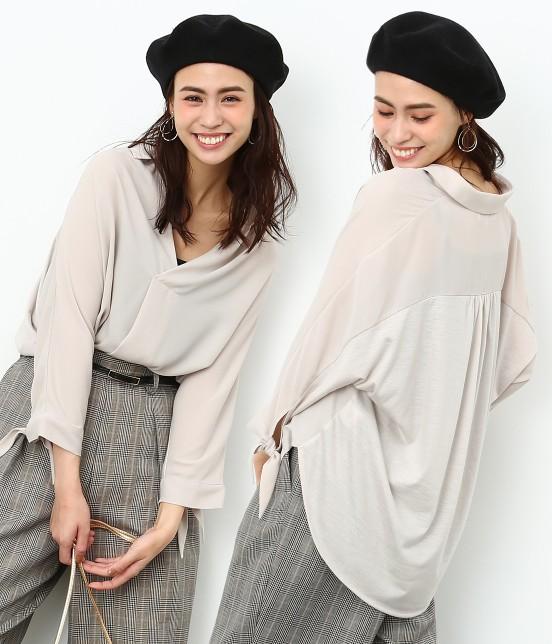 ロペピクニック | 7分袖ヒラリボンムジシャツ
