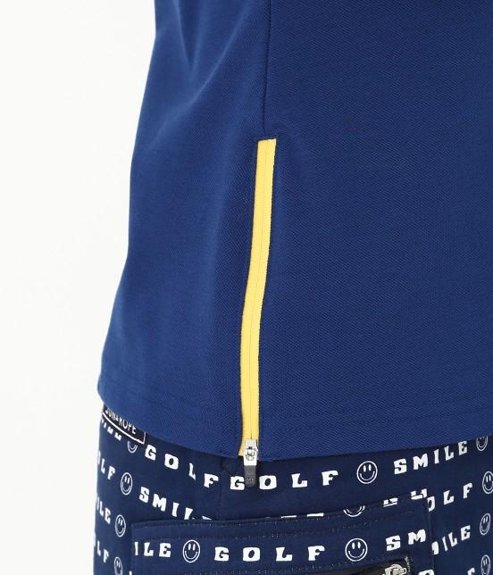 ジュン アンド ロペ | 【UVカット】【吸水速乾】【接触冷感】MILLION ICE Zipポロシャツ - 7