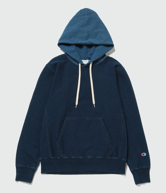 アダム エ ロペ オム | 【Champion for ADAM ET ROPE' 】Exclusive Indigo Hoodie