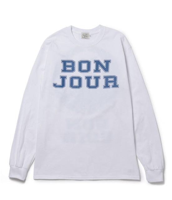 ボンジュールボンソワール | 【bonjour bonsoir】LNG SLV TEE TURU