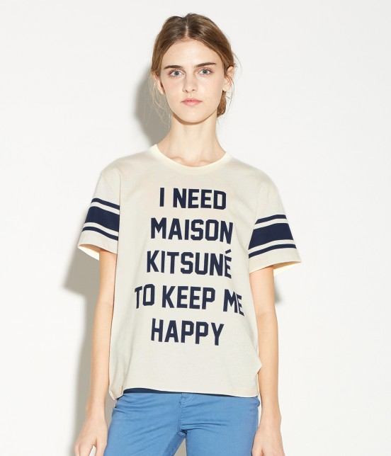 MAISON KITSUNÉ WOMEN   TEE SHIRT I NEED - 8