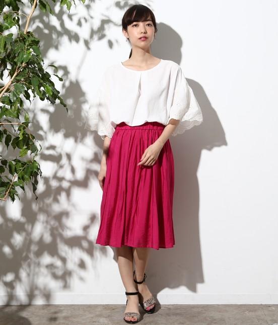 ロペピクニック   ヴィンテージギャザースカート - 5