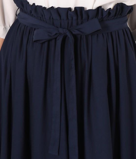 ロペピクニック | 【HIRARI COLLECTION】ヴィンテージサテンスカート - 5