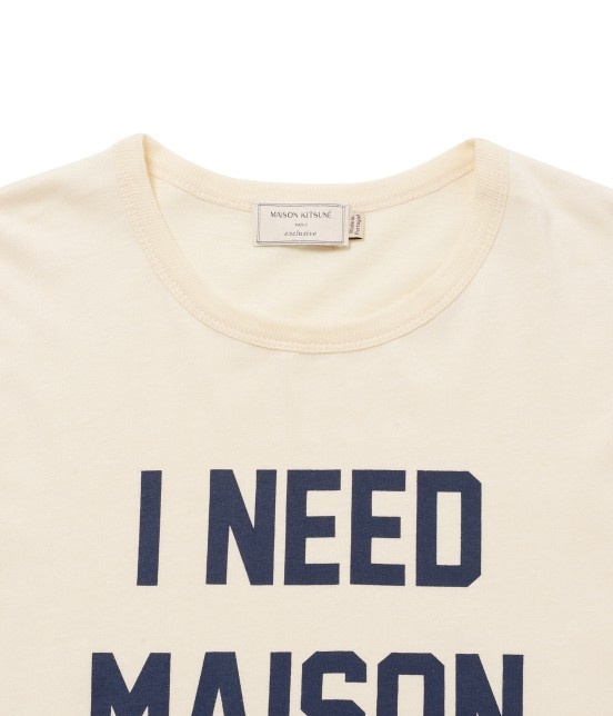 MAISON KITSUNÉ MEN | TEE SHIRT I NEED - 2