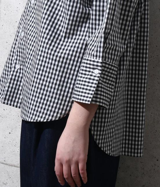 ロペピクニック | 【2WAY】先染め七分袖シャツ - 6