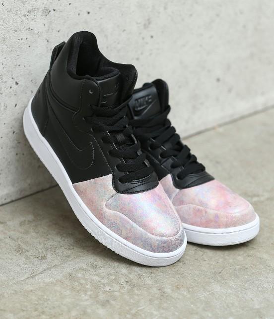 ナージー |  【Nike】Court Borough LOW MID PREM | チャコール