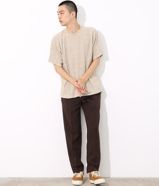 アダム エ ロペ オム | リネンパイルビッグTシャツ - 1