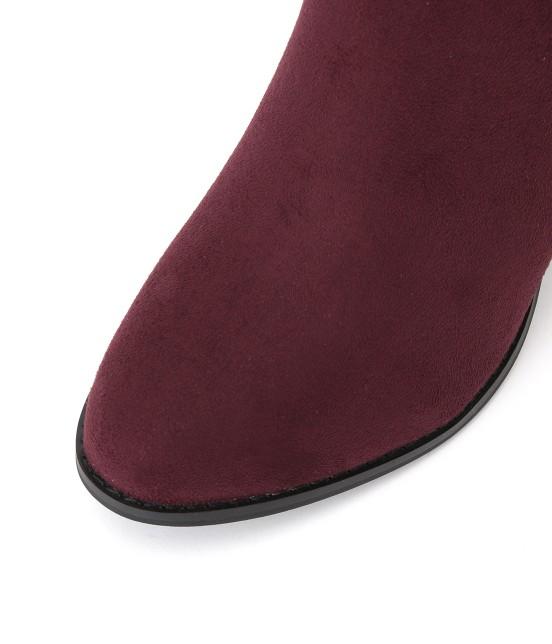 ロペピクニックパサージュ | 【街ピク着用アイテム ROPE' PICNIC×MERY】【WEB限定35.40サイズ】メタルヒールミドル丈ブーツ - 3