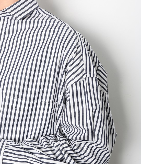 アダム エ ロペ ファム | 【TICCA】 スクエアビックシャツ - 9