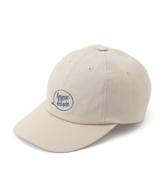ボンジュールボンソワール | 【bonjour bonsoir】BASIC CAP | ベージュ