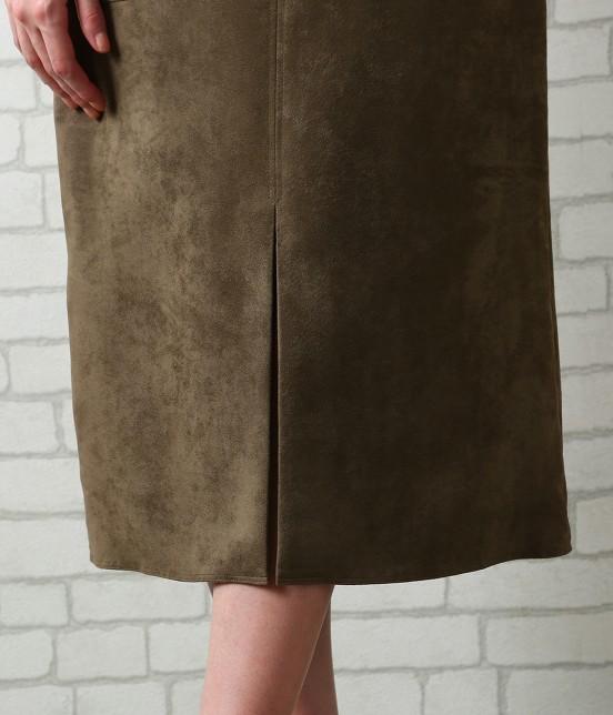 サロン アダム エ ロペ ウィメン | 【先行予約】CAPスウェードタイトスカート - 5