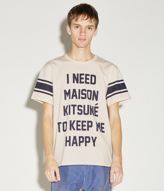 MAISON KITSUNÉ MEN | TEE SHIRT I NEED - 7
