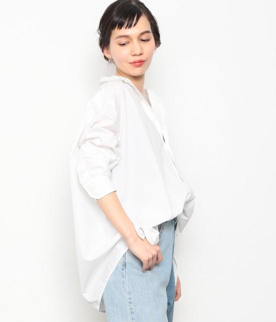アダム エ ロペ ファム | 【TICCA】 スクエアビックシャツ | ホワイト