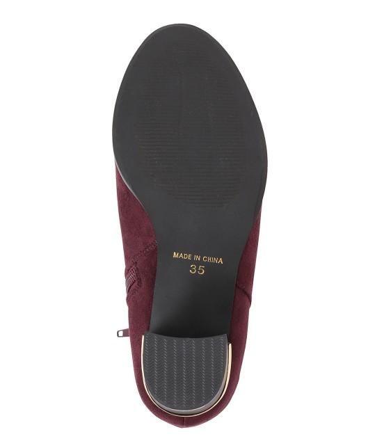 ロペピクニックパサージュ   【街ピク着用アイテム ROPE' PICNIC×MERY】【WEB限定35.40サイズ】メタルヒールミドル丈ブーツ - 6