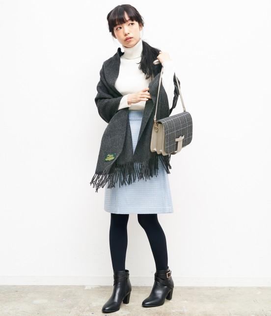 ロペピクニック   【紙兎ロペ BOOK掲載】リブタートルニットプルオーバー - 8