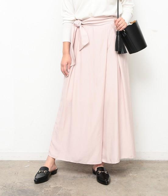 ロペピクニック | 【ロペ シスターズ コレクション】【HIRARI COLLECTION】ヴィンテージサテンスカーチョ | ピンク系
