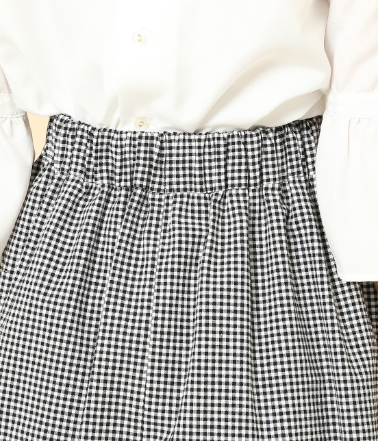 ロペピクニック   【予約】ギンガムチェックサーキュラースカート - 4
