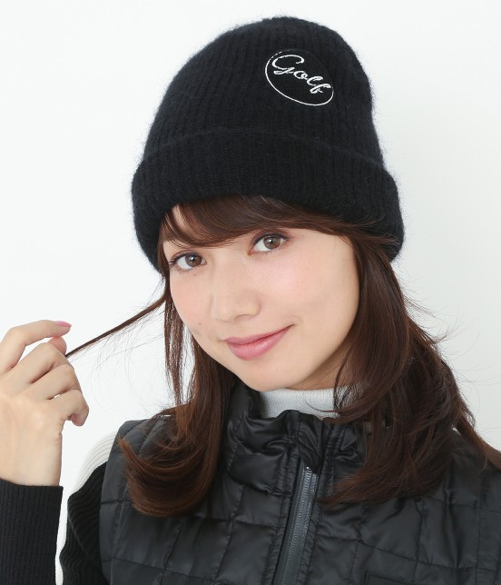 ジュン アンド ロペ | ワンポイントワッペン付きニット帽 - 9