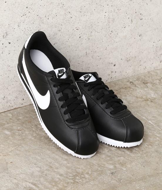 ナージー | 【Nike】Classic Cortez Leather | ブラック
