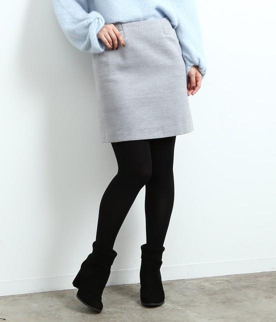 ロペピクニック | 【HAPPY PRICE】カラー台形スカート | グレー