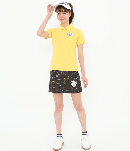 ジュン アンド ロペ | 【UV CUT】【吸水速乾】【接触冷感】ミリオンアイス切替半袖ポロシャツ - 14