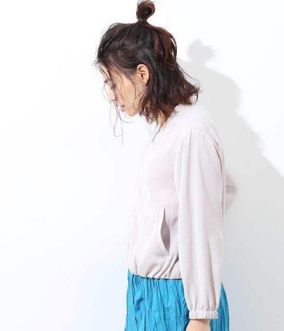 ビス   【UV CARE・接触冷感】ジップブルゾン - 2