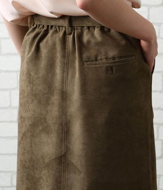 サロン アダム エ ロペ ウィメン | 【先行予約】CAPスウェードタイトスカート - 3