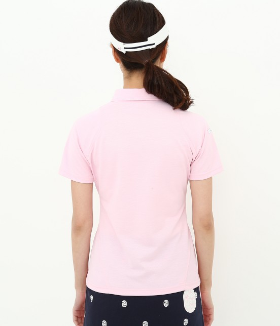 ジュン アンド ロペ | 【UV CUT】【吸水速乾】【接触冷感】ミリオンアイス切替半袖ポロシャツ - 3
