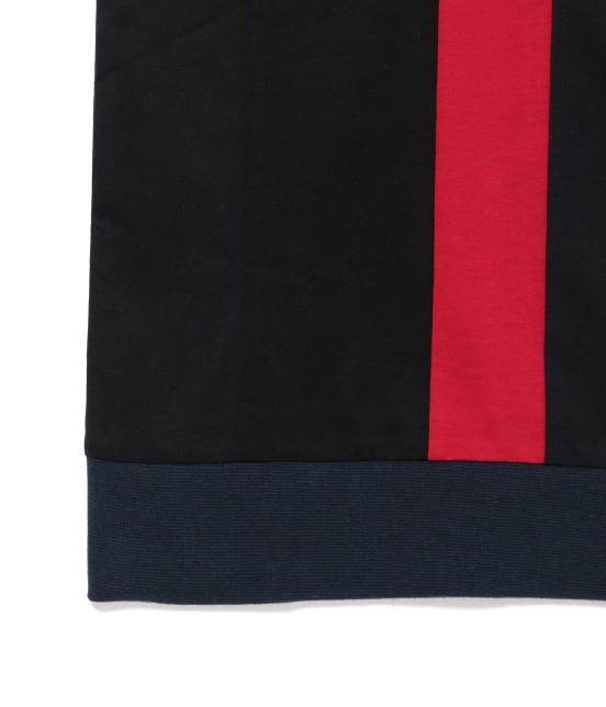 ジュンレッド | 【TIME SALE】パネルストライプ半袖Tシャツ - 15