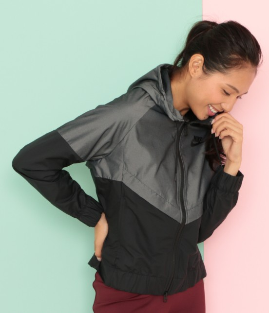 ナージー | 【Nike】Wind Runner Chambray Jacket | ブラック