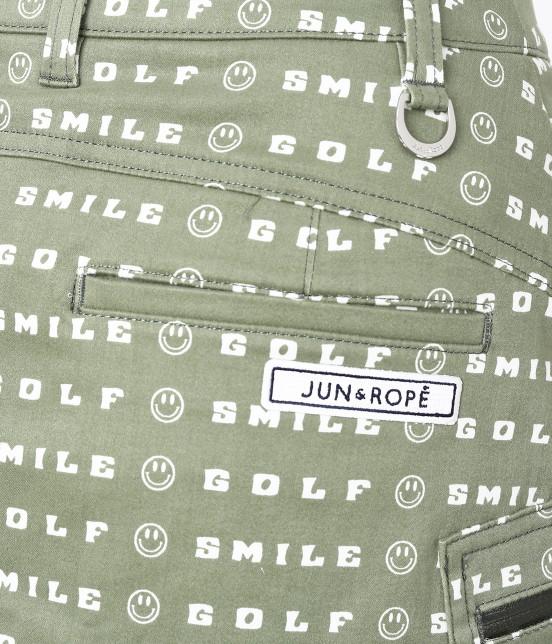 ジュン アンド ロペ | スマイルモチーフプリントスカート - 5