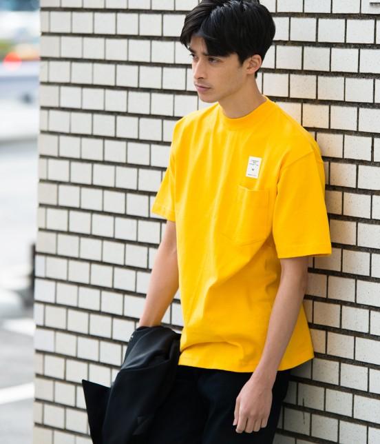 アダム エ ロペ オム | 【CAMBER for ADAM ET ROPE'】FAKE PRINT Tシャツ