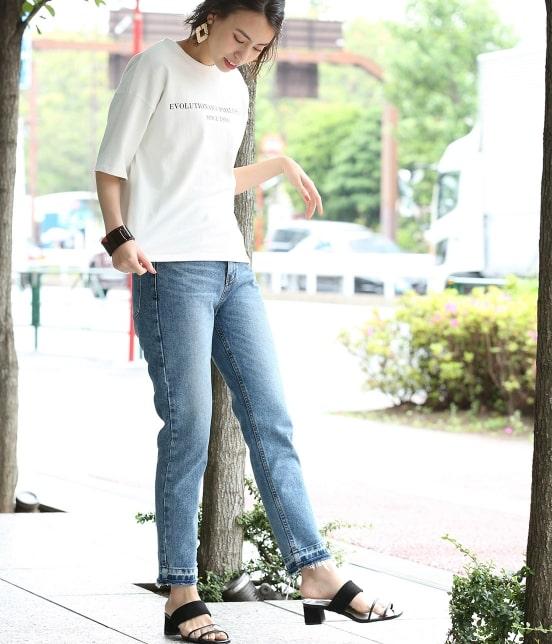 ビス | 【WEB限定】ロゴTシャツ - 20