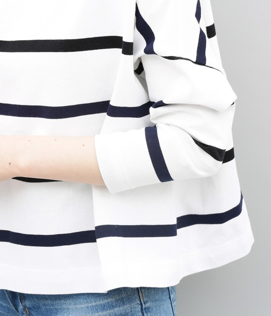 アダム エ ロペ ファム | 【新色】【Traditional Weatherwear】BIG MARINE BOATNECK - 6