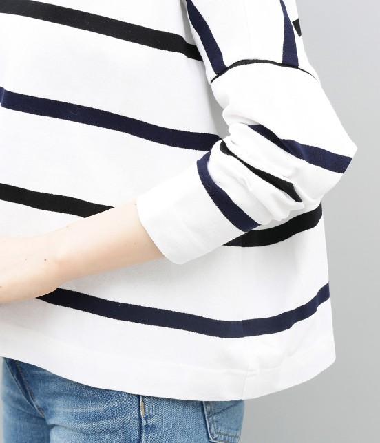 アダム エ ロペ ファム | 【新色】【Traditional Weatherwear】BIG MARINE BOATNECK - 7